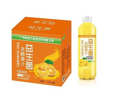 益生菌�l酵橙汁1.25LX6瓶