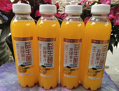 益生菌发酵橙汁500ml