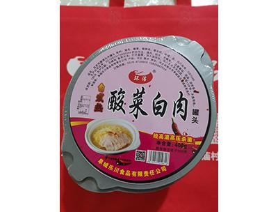 酸菜白肉罐头