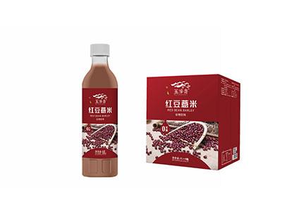 红豆薏米谷物饮料箱装1LX6瓶