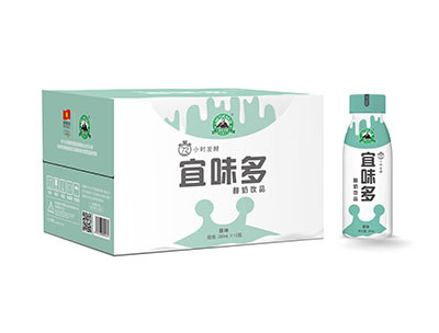 宜味多原味酸奶280mlX12