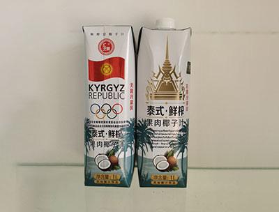 泰式�r榨果肉椰子汁