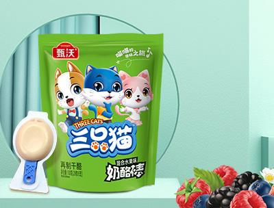 三只猫奶酪棒混合水果味