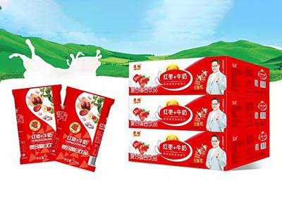 馨畅红枣+牛奶250×16×3
