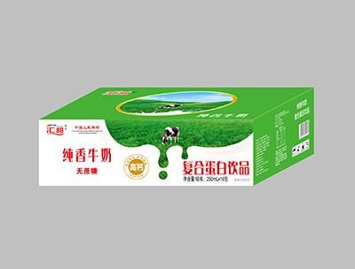 汇甜纯香牛奶250ml×16