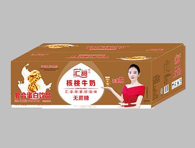 汇甜核桃牛奶250ml×16