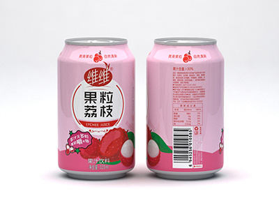 �S �S果粒荔枝320ml