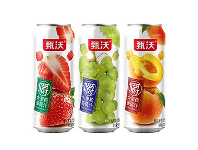 甄沃大果粒果汁