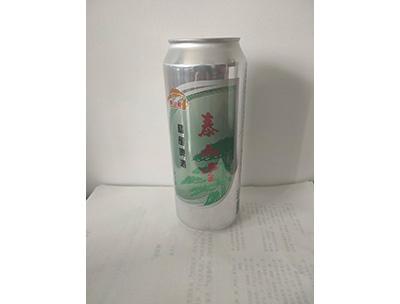 泰山雪精�啤酒