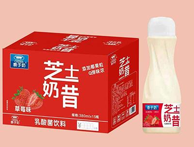 泰子奶芝士奶昔草莓味380ml*15瓶