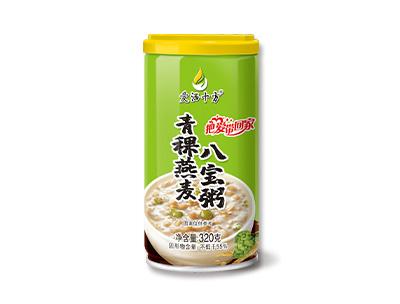 青稞燕麦八宝粥320g
