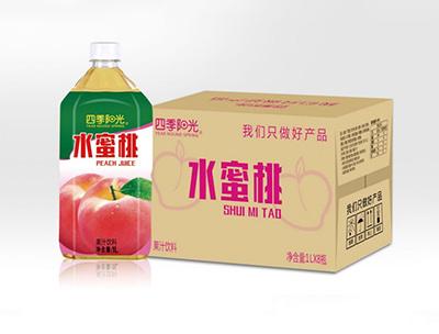 四季阳光水蜜桃1L*8瓶