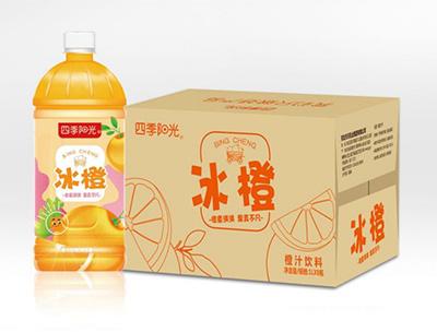 四季阳光冰橙1L*8瓶