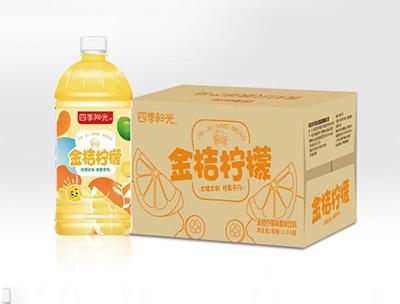 四季阳光金桔柠檬1L*8瓶