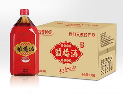 四季阳光酸梅汤1L*8瓶
