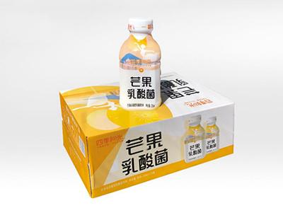 四季阳光芒果乳酸菌350ml*12瓶