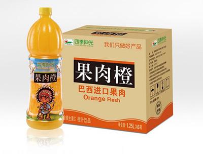 四季阳光果肉橙1.25L*6瓶