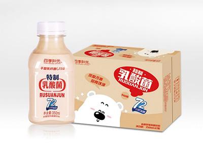 四季阳光 特质乳酸菌350ml*12瓶