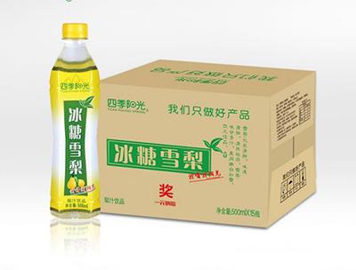 四季阳光冰糖雪梨500ml*15瓶