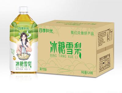 四季阳光 冰糖雪梨1L*8瓶