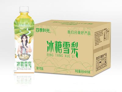 四季阳光 冰糖雪梨500ml*15瓶