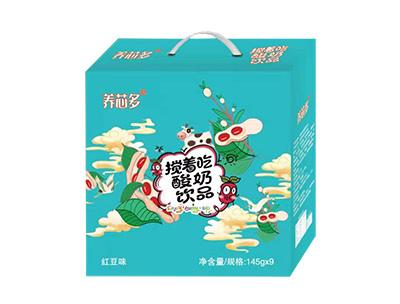 �B芯多��著吃酸奶�品�t豆味145g*9