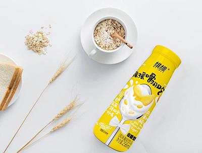 摇摇嚼的吃酸奶饮品256ml