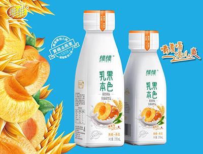 乳果本色黄桃+燕麦318ml