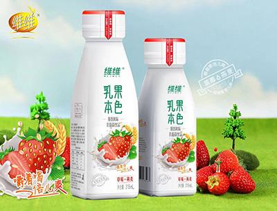 乳果本色草莓+燕麦318ml