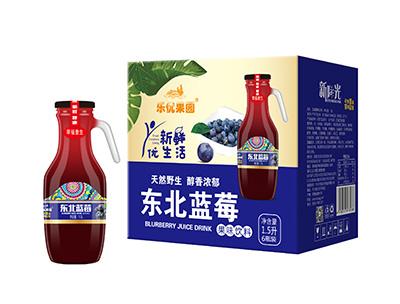 东北蓝莓果味饮料1.5L*6