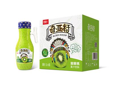 奇亚籽猕猴桃复合果汁饮料1.5L*6