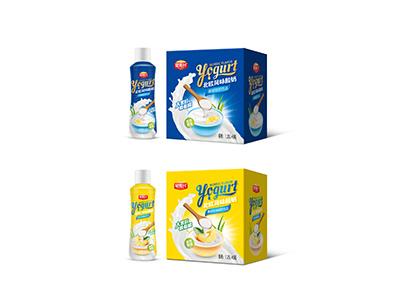 1.25L原味&黄桃味酸奶