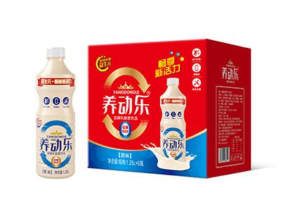养动乐乳酸菌饮品1.25L*6