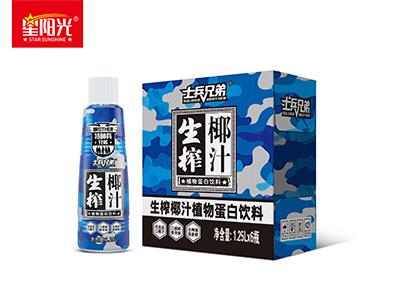 士兵兄弟生榨椰汁1.25L*6