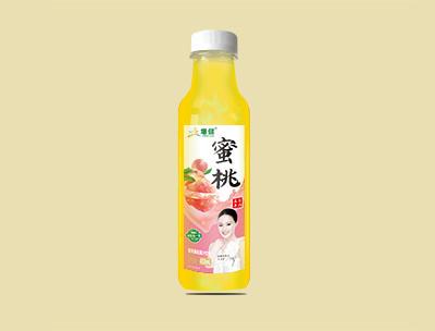 增健果粒果汁�料蜜桃450ml