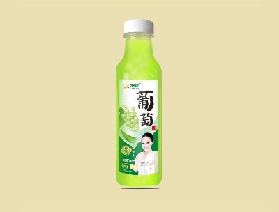 增健果粒果汁�料葡萄450ml