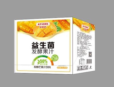 艾臣氏�l酵芒果汁�料1.2L*6