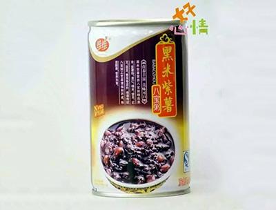 黑米紫薯八��粥