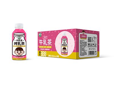卡妙夫系列牛乳茶黑糖焦香468ml*15