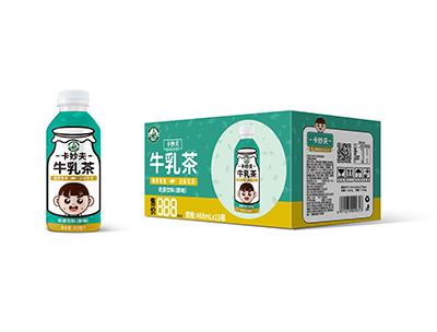卡妙夫系列牛乳茶原味468ml*15