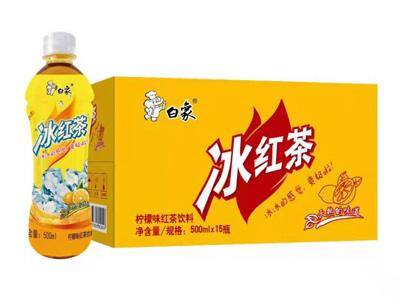 ��檬味�t茶�料箱�b500ml*15