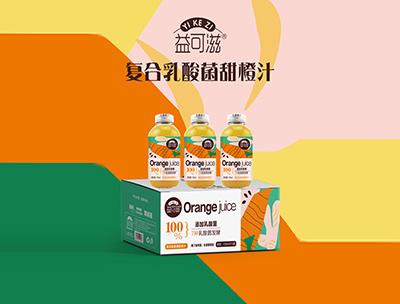 益可滋�秃先樗峋�甜橙汁318ml