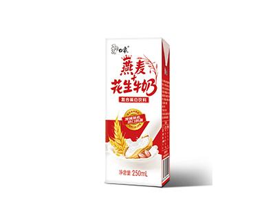 燕麦花生牛奶250ml