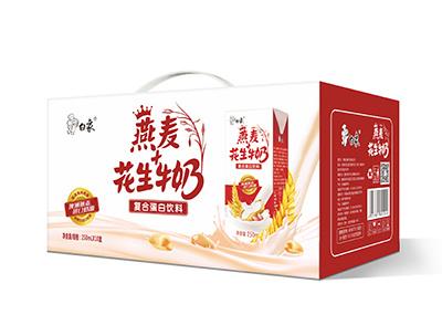 燕麦花生牛奶250ml*10