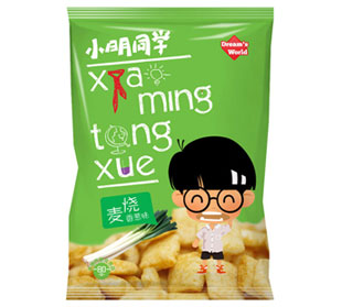 小明同学麦烧膨化食品招商中