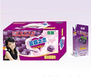 优酥蓝莓之恋蓝莓汁 健康生活时尚之选