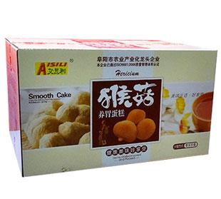 艾思利猴菇养胃蛋糕真材实料,让消费者更放心