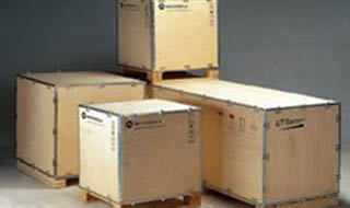 折叠金属扣件包装箱