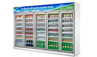 便利店饮料展示柜