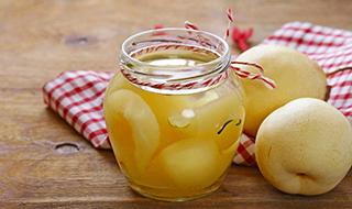 梨罐头的做法